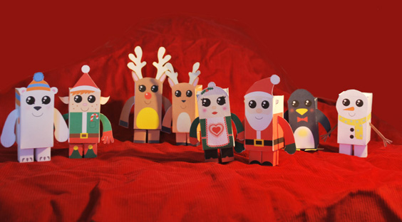 paper-toys-navidad