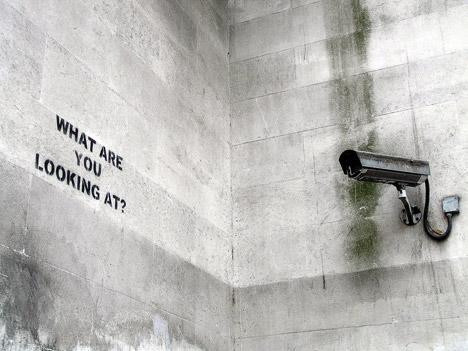 surveillance-camera-on-wall