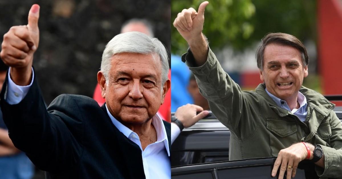 Bolsonaro y AMLO