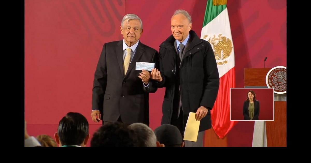 AMLO y Gertz Manero