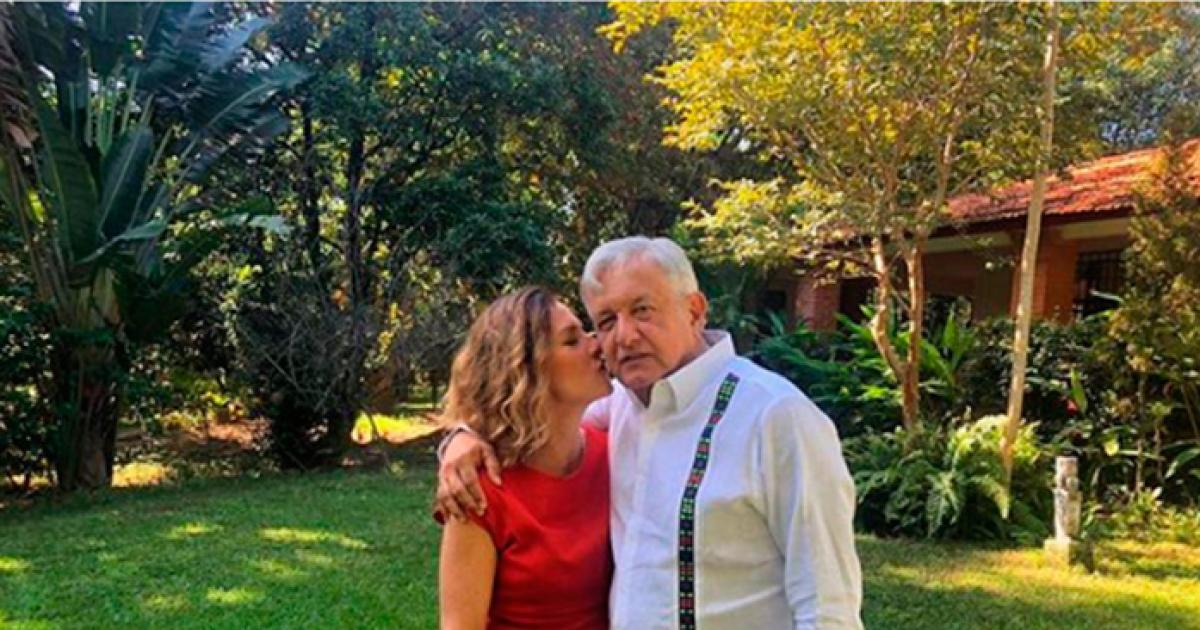 Beatriz Gutierrez Müeller y López Obrador