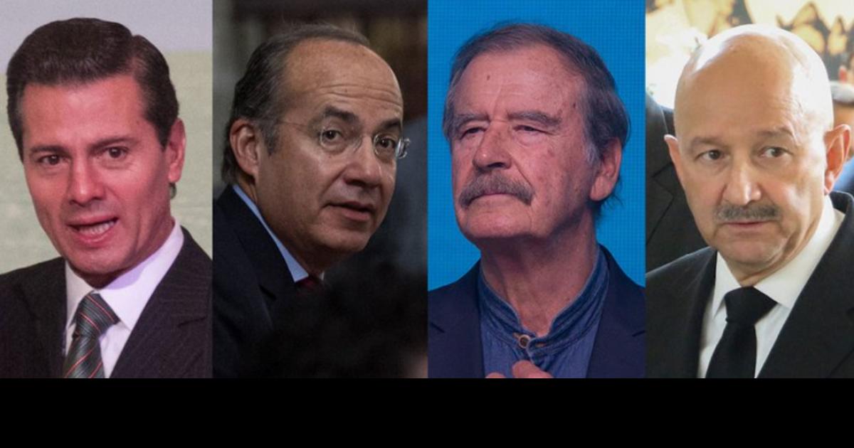 Salinas, Fox, Calderón y Peña Nieto