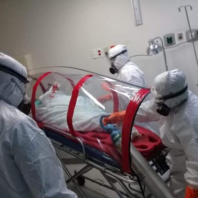 Camilla en hospital