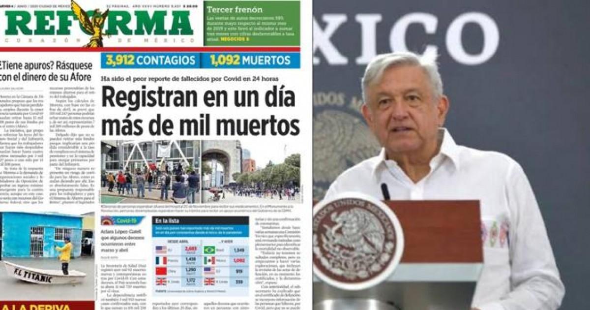 AMLO y Reforma
