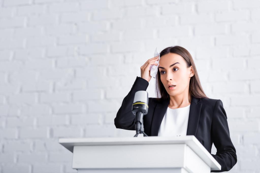 Hablar en publico es bueno para la salud