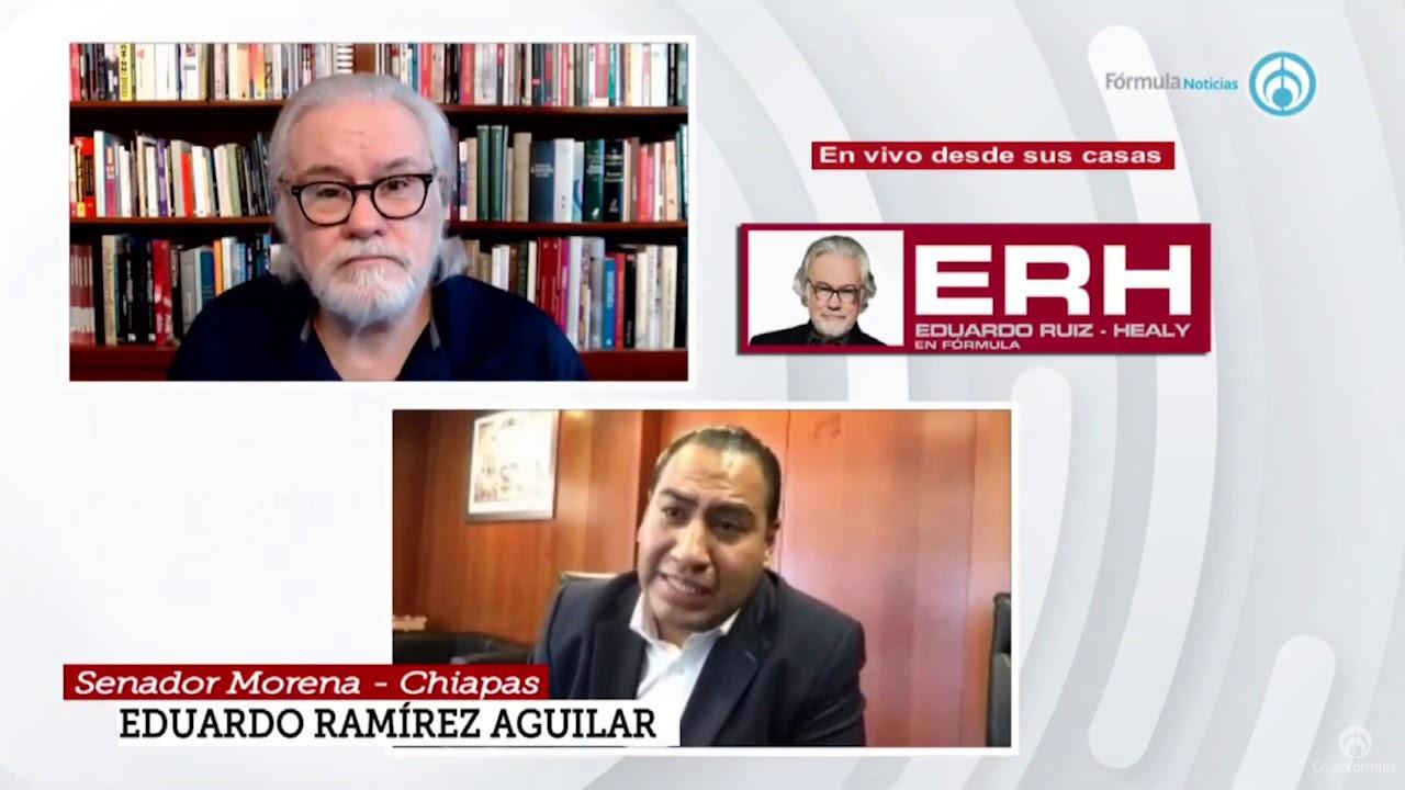 """""""Soy conciliador pero defiendo lo que pienso"""" Eduardo Ramírez Aguilar - Eduardo Ruiz-Healy En Fórmula"""