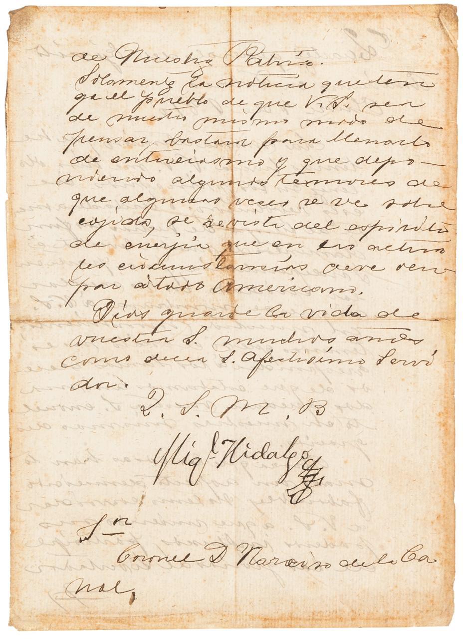 Carta de Hidalgo