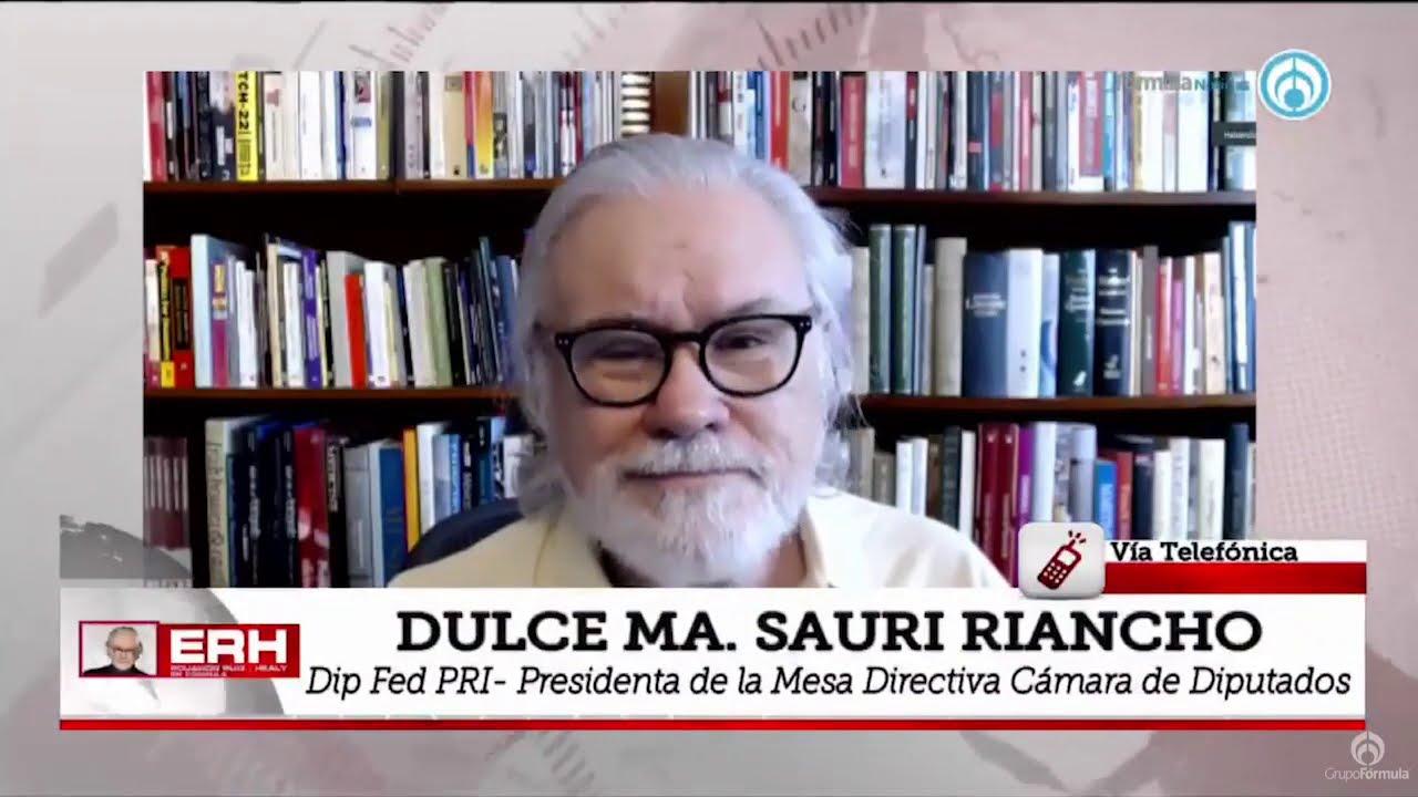 """""""En el PRI estamos en condiciones de enfrentar los grandes retos"""": Dulce Ma. Sauri - Eduardo Ruiz-Healy En Fórmula"""
