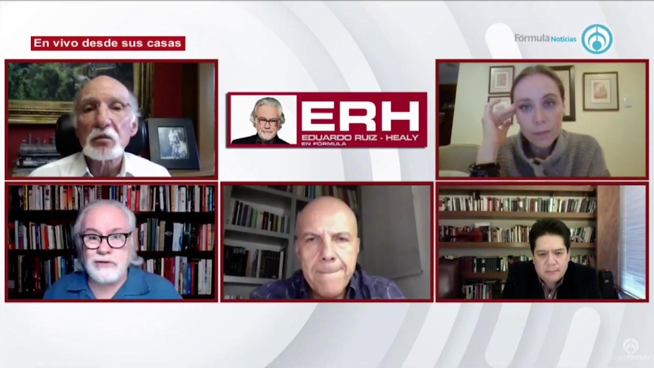 """El exagerado desplegado de los """"intelectuales"""" contra AMLO - Eduardo Ruiz-Healy En Fórmula"""