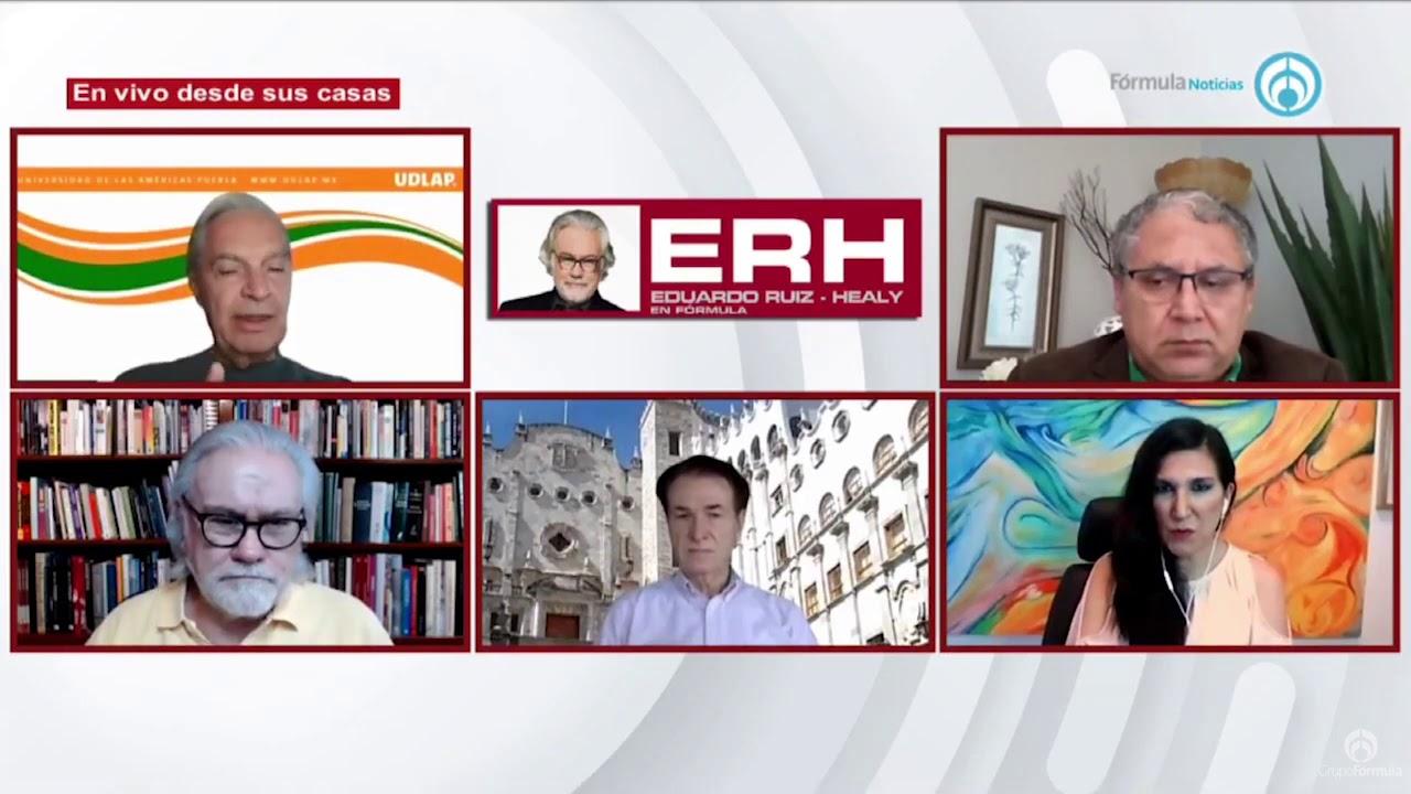 """Opiniones sobre el """"plantón"""" de FRENAAA en Reforma CDMX - Eduardo Ruiz-Healy En Fórmula"""