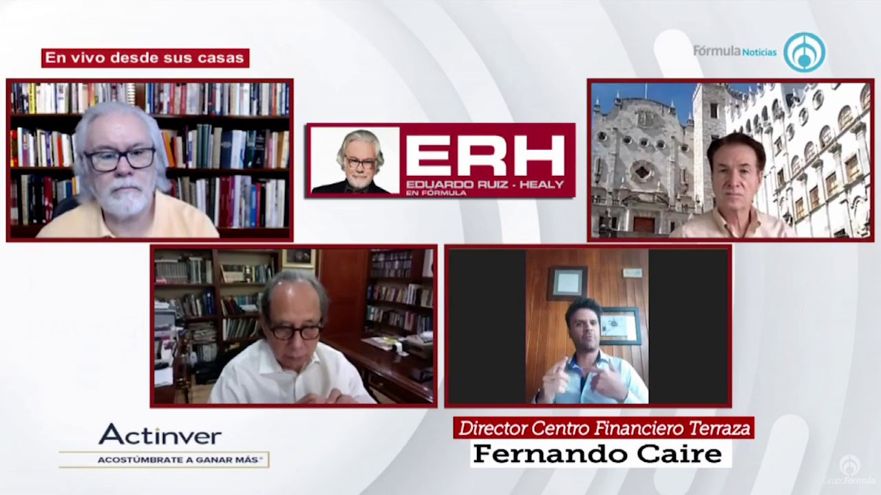 Reto Actinver 2020 - Eduardo Ruiz-Healy En Fórmula