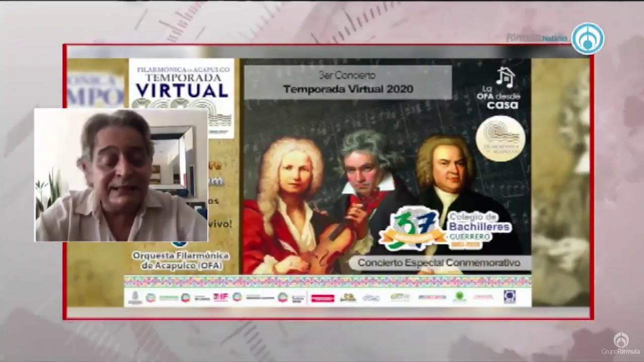 Temporada Virtual 2020 de la Orquesta Filarmónica de Acapulco - Eduardo Ruiz-Healy En Fórmula