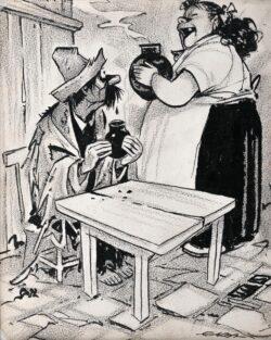 Cartón de Ernesto García Cabral