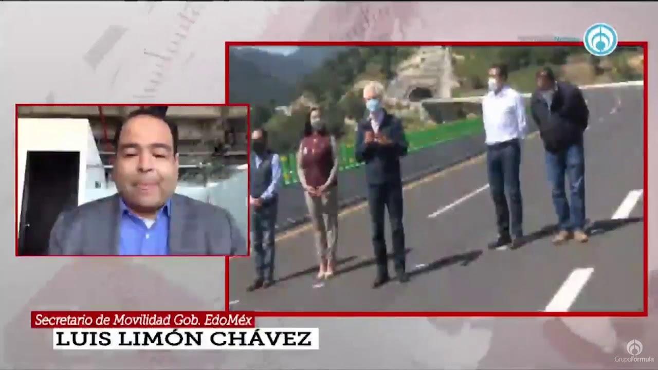Inauguración de la Autopista Toluca-Naucalpan - Eduardo Ruiz-Healy En Fórmula
