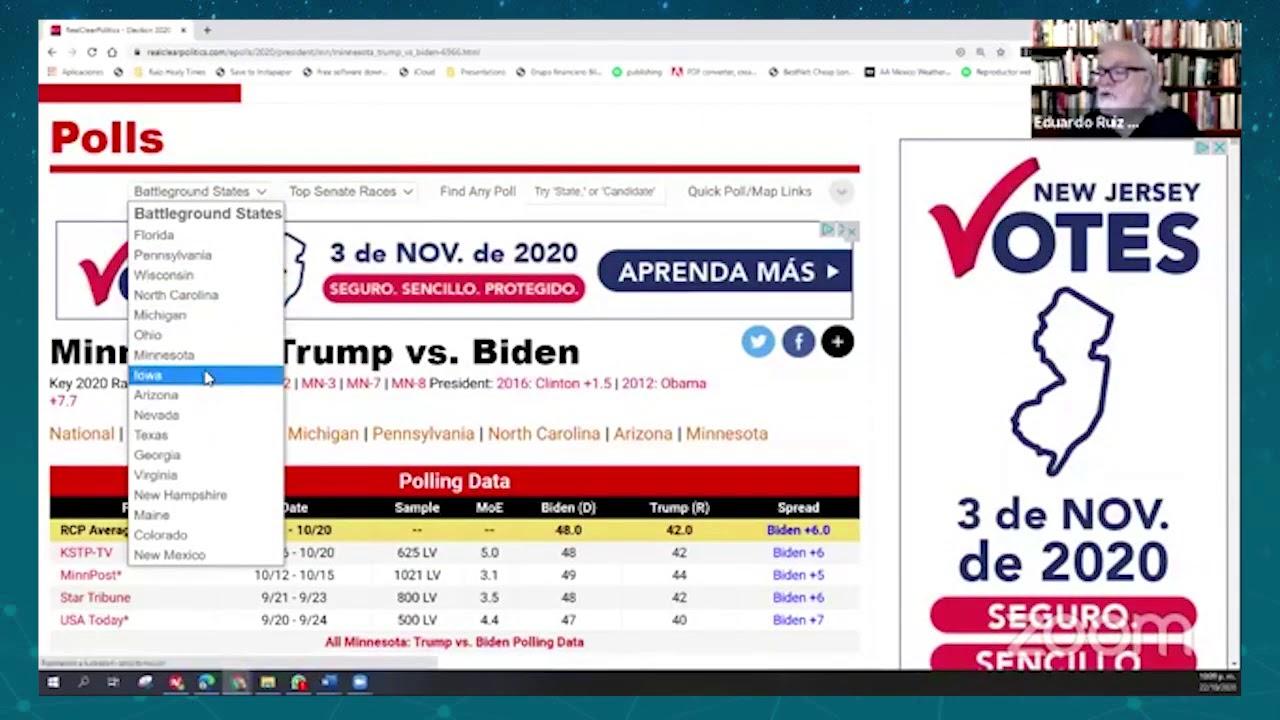 El último debate Trump vs Biden y más - Diálogo Nocturno