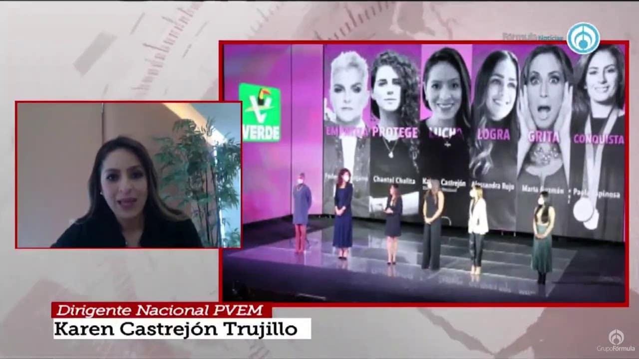 Karen Castrejón, nueva dirigente del Partido Verde - Eduardo Ruiz-Healy En Fórmula