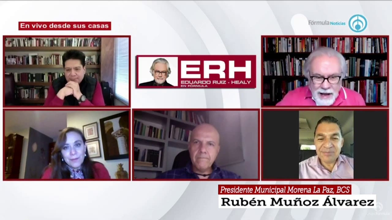 La candidatura de Morena a Gobernador de Baja California Sur - Eduardo Ruiz-Healy En Fórmula