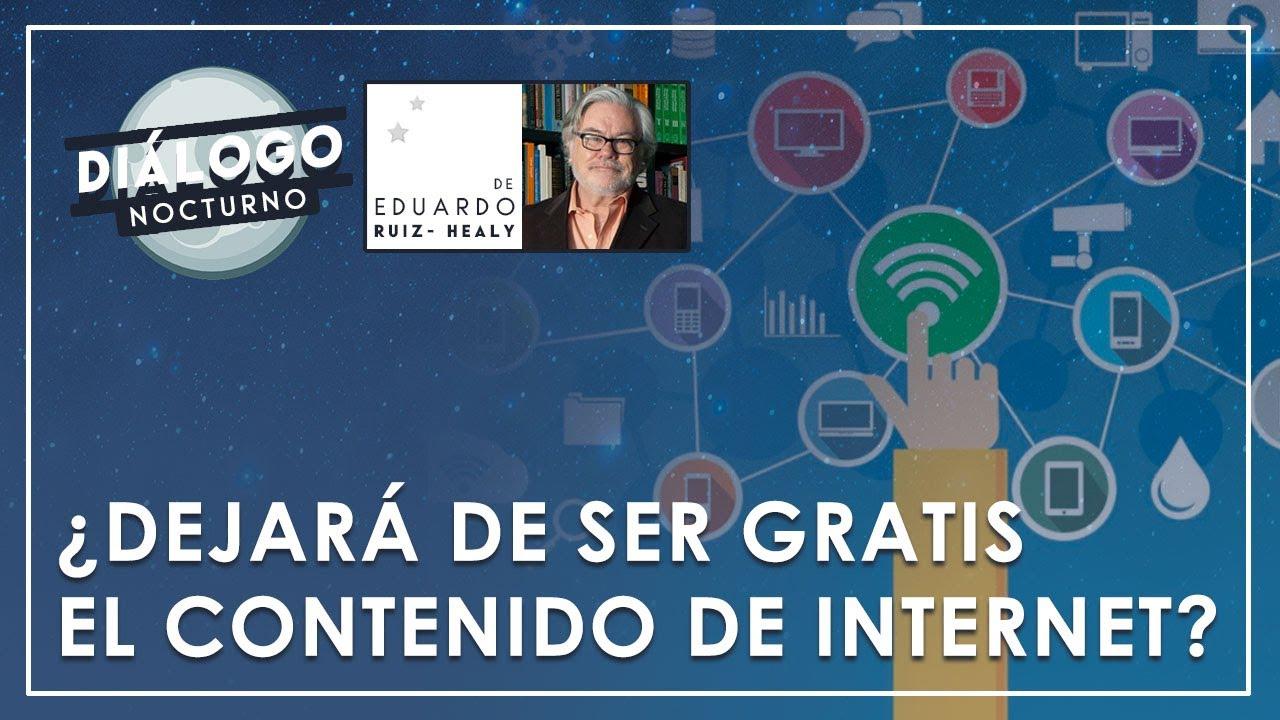 ¿Dejará de ser gratis el contenido de la Internet? - Diálogo Nocturno