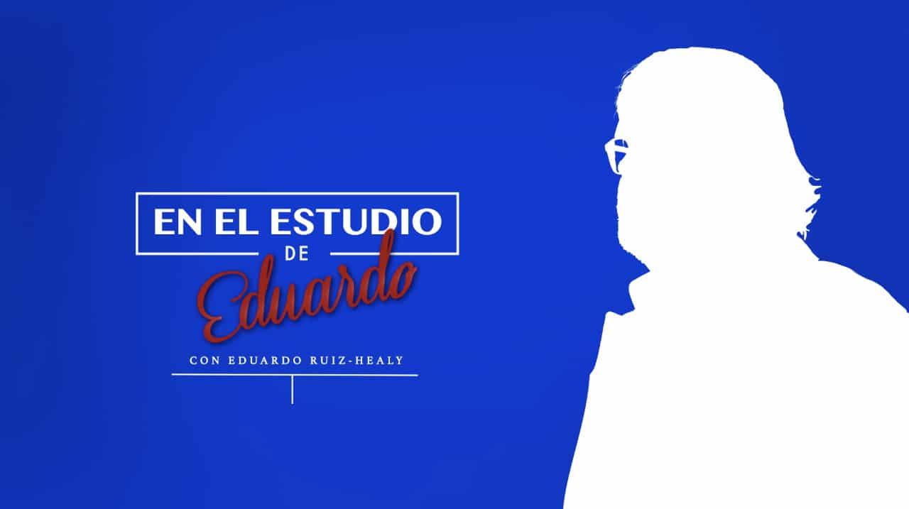 En el Estudio de Eduardo