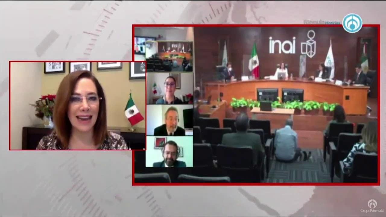 Blanca Lilia Ibarra, nueva Presidenta del INAI - Eduardo Ruiz-Healy En Fórmula