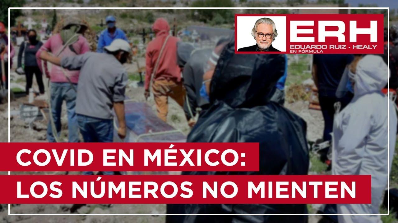 COVID en México: Los números no mienten - Eduardo Ruiz-Healy En Fórmula