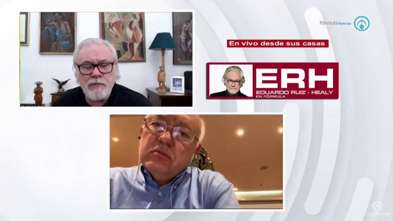 """""""Los órganos internos de control no querían darnos la información"""": Auditor ASF - Eduardo Ruiz-Healy En Fórmula"""