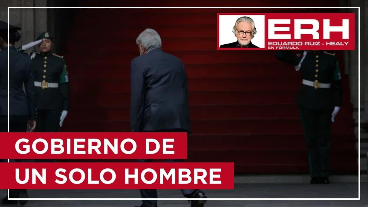La carga electoral de Morena pesa en un solo hombre, igual que el proyecto de transformación - Eduardo Ruiz-Healy En Fórmula