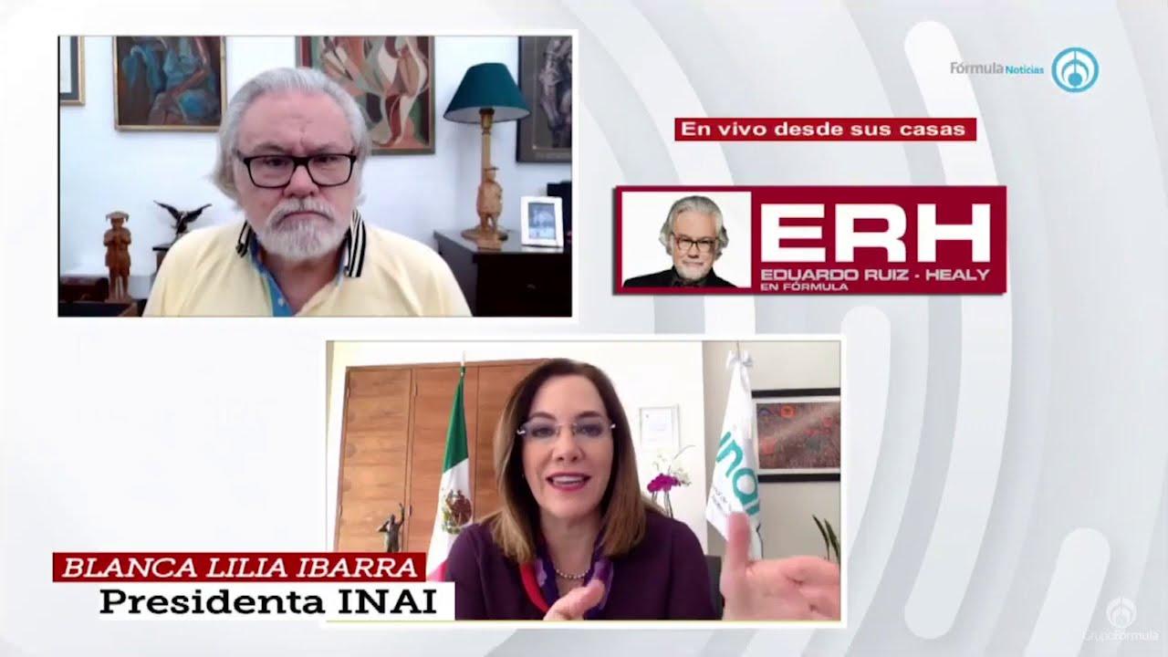 El Informe de Labores 2020 del INAI - Eduardo Ruiz-Healy En Fórmula