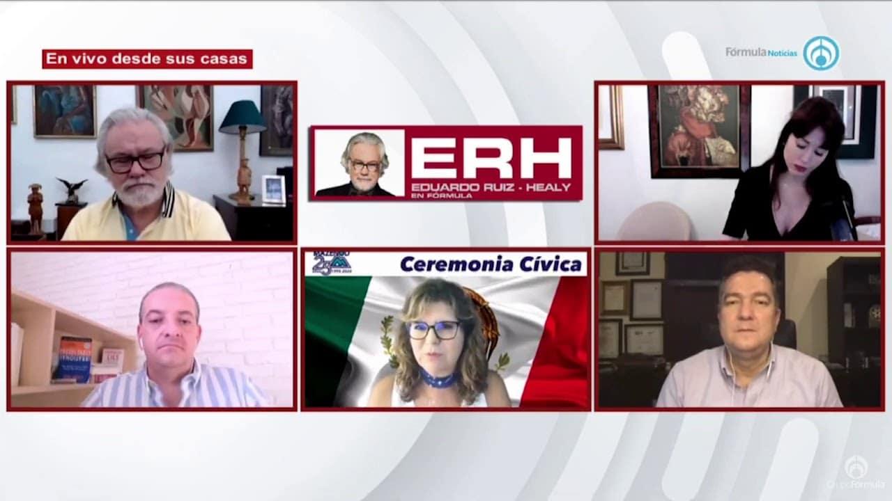 Homenajes de los alumnos a los maestros - Eduardo Ruiz-Healy En Fórmula
