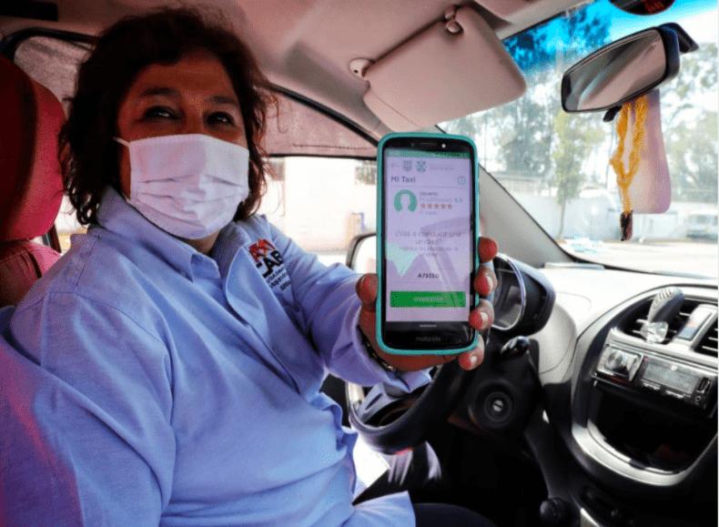 """La herramienta digital """"Mi Taxi"""" en la Ciudad de México"""