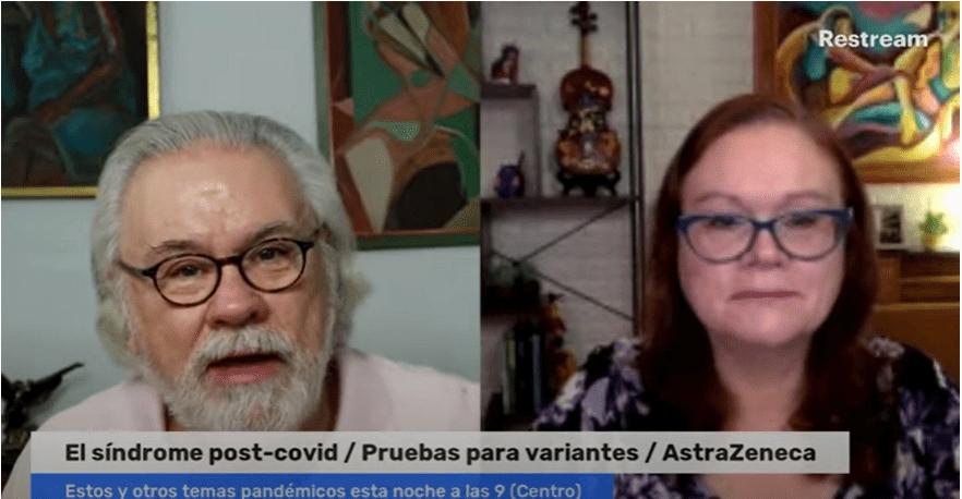 El síndrome post-covid / Pruebas para avariantes / AstraZeneca - Diálogo Nocturno