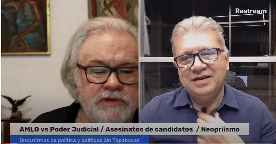 AMLO vs Poder Judicial / Asesinatos de candidatos / Neopriismo - Diálogo Nocturno