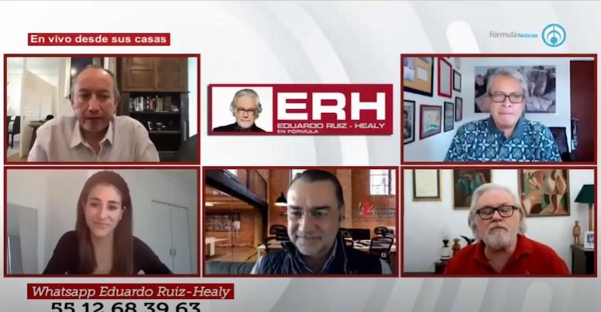 La 1a Conferencia de Prensa de Joe Biden - Eduardo Ruiz-Healy En Fórmula