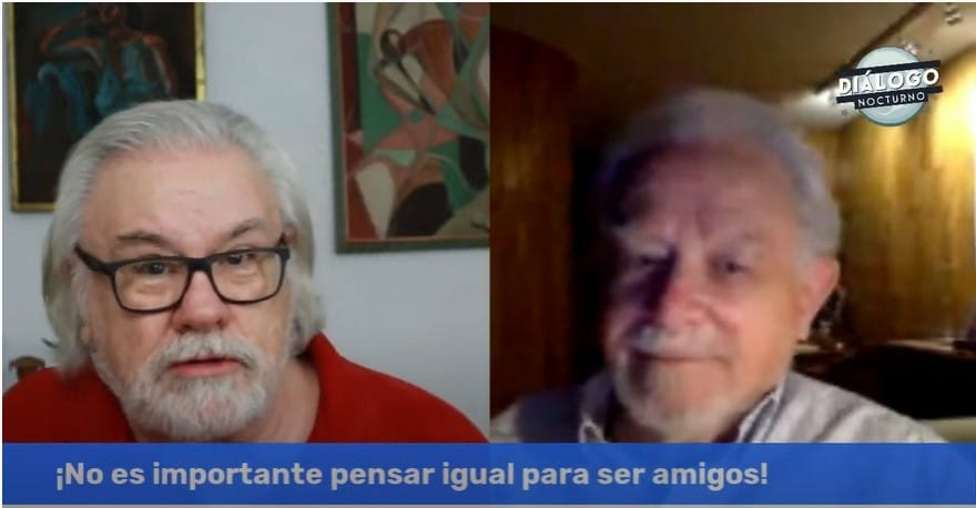 45 años de amistad y en muchas cosas ¡no nos ponemos de acuerdo! - Diálogo Nocturno