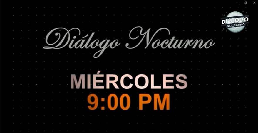 Hablemos de política y políticos ¿Sin Tapabocas! - Diálogo Nocturno