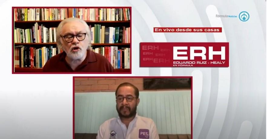 """""""No al aborto, no nos vamos a mover de ahí"""" Hugo Éric Flores (PES) - Eduardo Ruiz-Healy En Fórmula"""