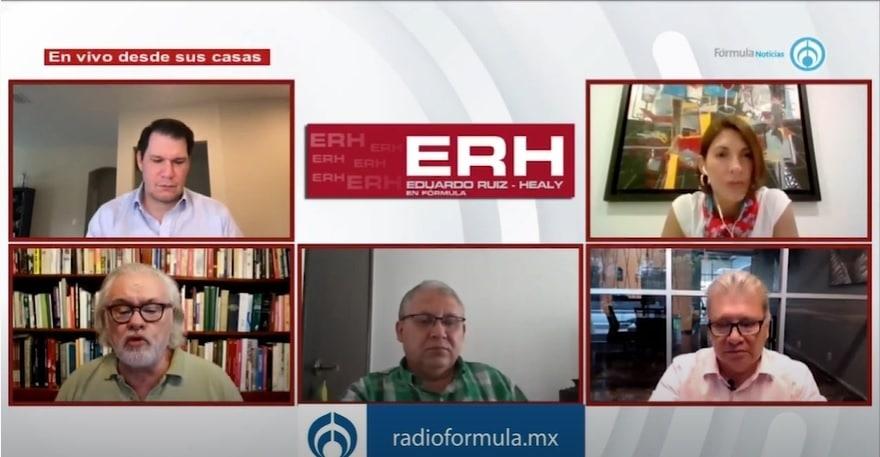 Gobiernos de Caldeón, Peña y AMLO han presidido una caída importante en el sector constructor - Eduardo Ruiz-Healy En Fórmula