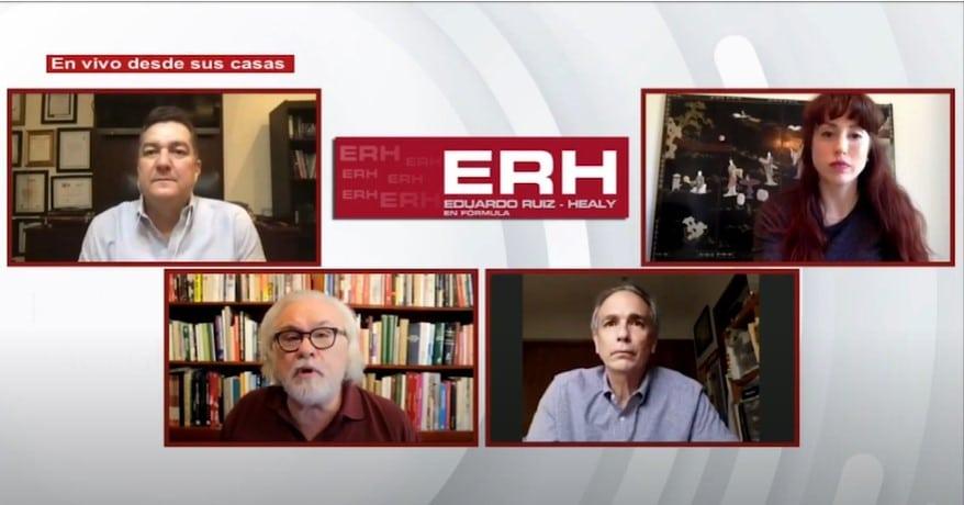AMLO no es ni será nunca el jefe de los poderes legislativo y judicial, a menos de que… - Eduardo Ruiz-Healy En Fórmula