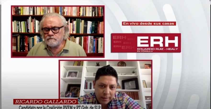 Impulsar la reactivación económica de San Luis Potosí: candidato Ricardo Gallardo - Eduardo Ruiz-Healy En Fórmula