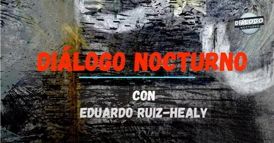 """Esta noche platicaré con Alberto Ángel """"El Cuervo"""" sobre sui obra por internet """"El Arte, ¿para... - Diálogo Nocturno"""