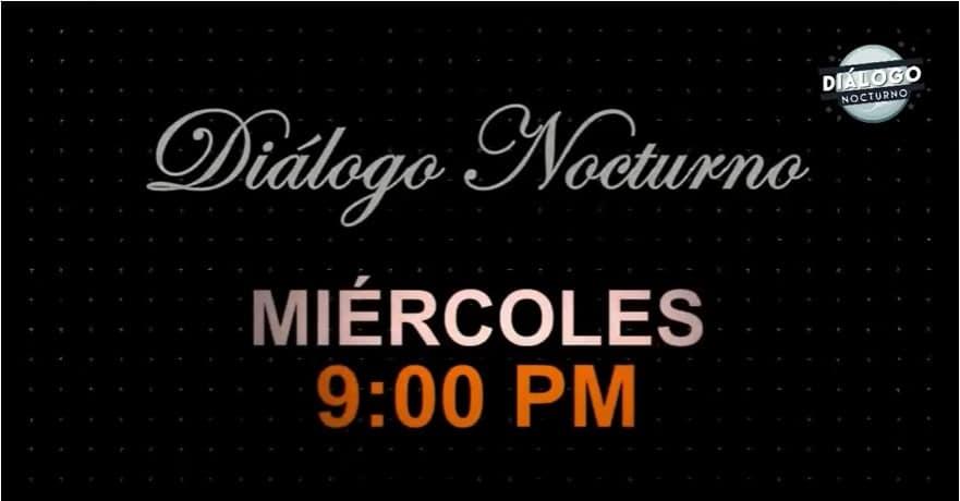 Es miércoles y SinTapabocas hablaremos de política y políticos - Diálogo Nocturno