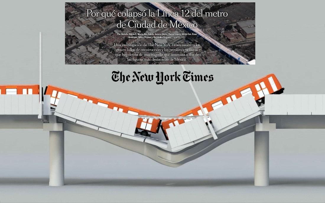 Línea 12 del Metro, Investigación del NYT