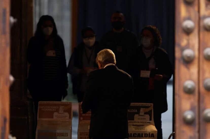 el descalabro de Morena en las elecciones para el Congreso