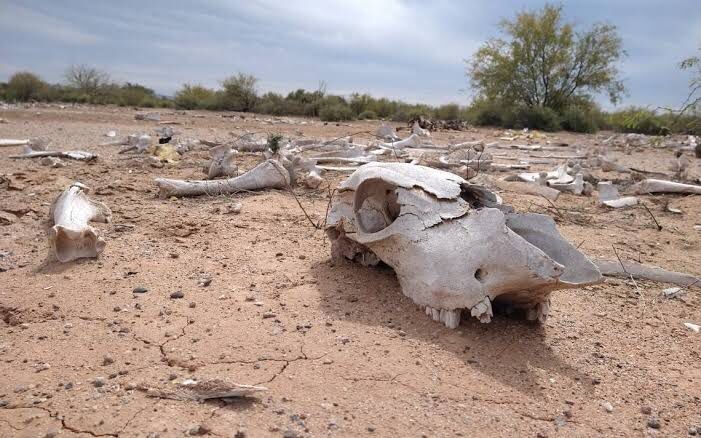 país en sequía