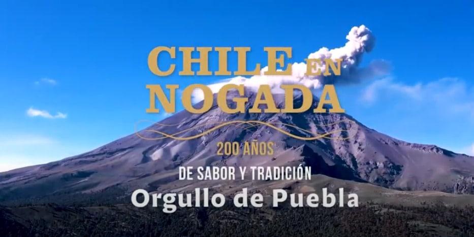 Chile en Nogada, una delicia de la comida poblana 🍽😍