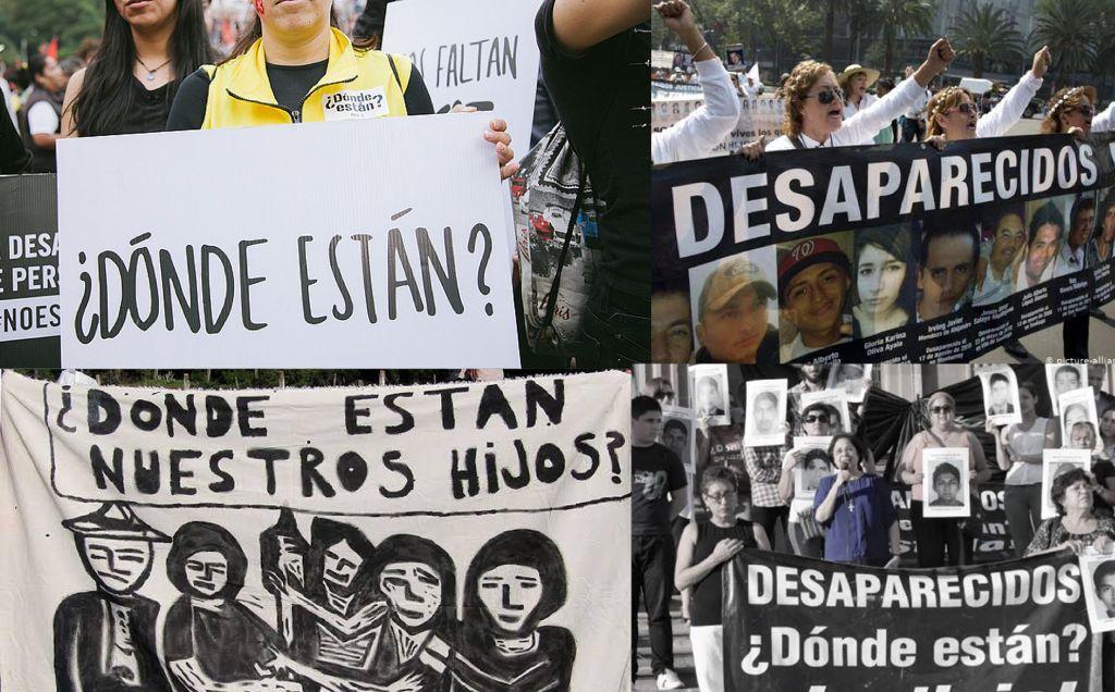 Miles de desapariciones forzadas y la impunidad sigue