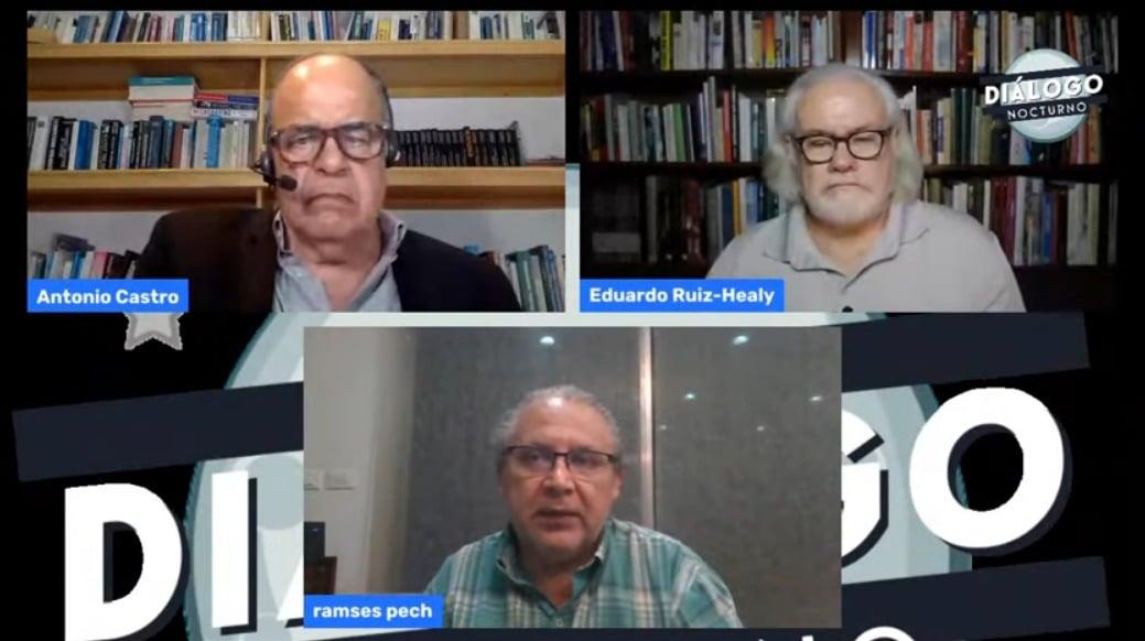 Esta noche, con Antonio Castro y Ramsés Pech: Alza en tasas de interés y sus efectos / Costo de... - Diálogo Nocturno