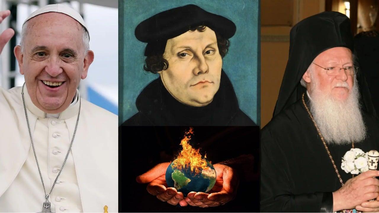Católicos, ortodoxos y anglicanos unidos para combatir el cambio climático