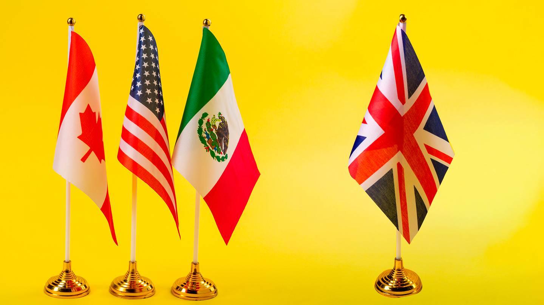La incorporación del Reino Unido al T-MEC sumaría a un socio que exporta tanto como México y Canadá