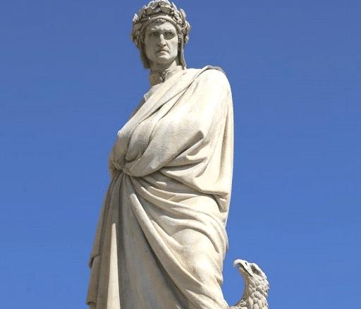 dante estatua
